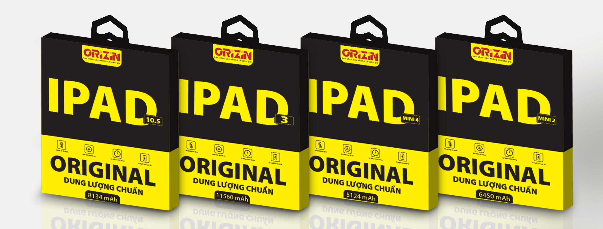 Pin Ipad chính hãng phiên bản chuẩn