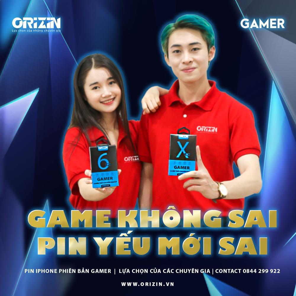 Pin Gamer chuyên dành cho game thủ chuyên nghiệp