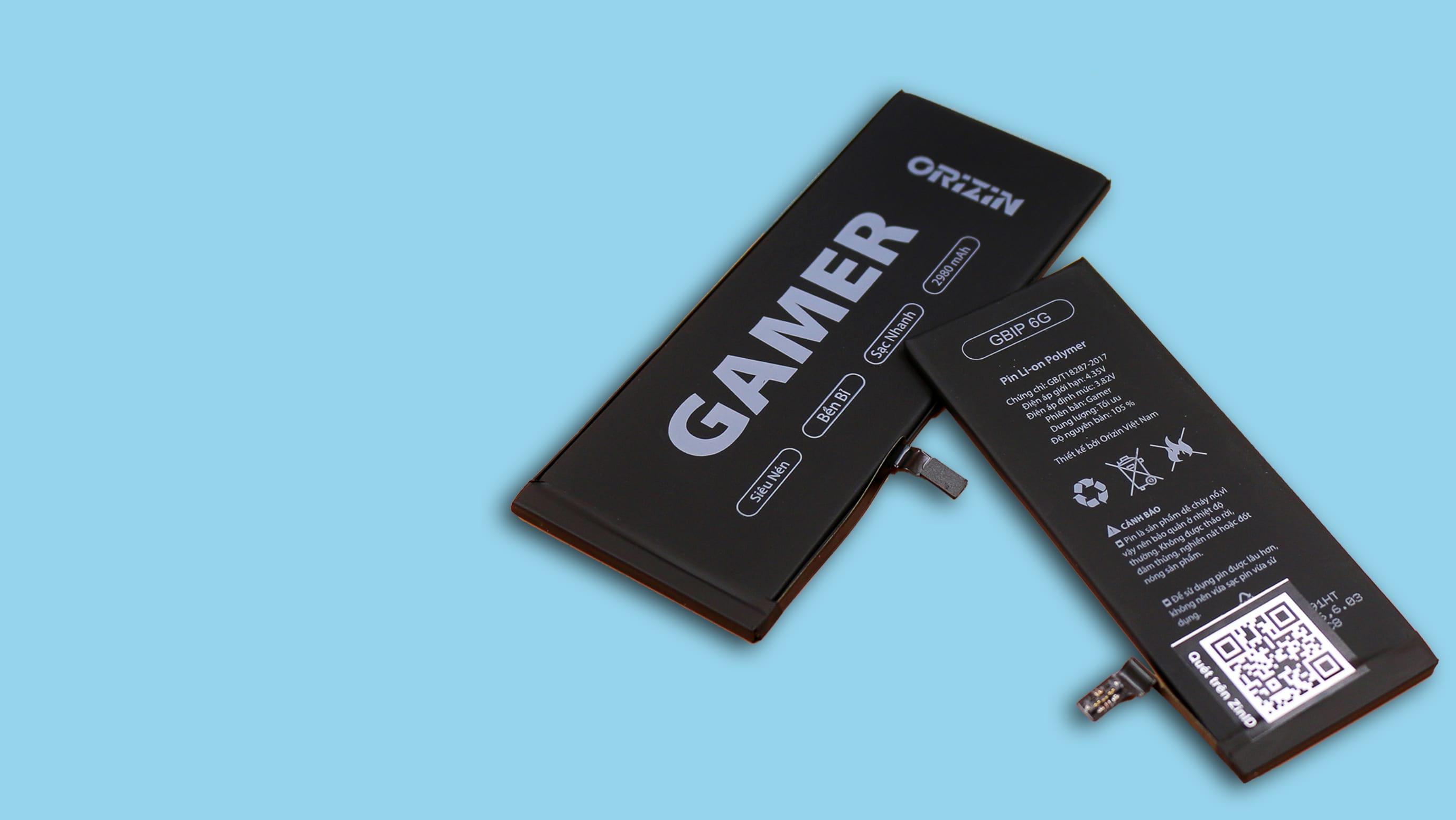 Tại sao bạn nên chọn pin Iphone phiên bản Gamer của Orizin Việt Nam