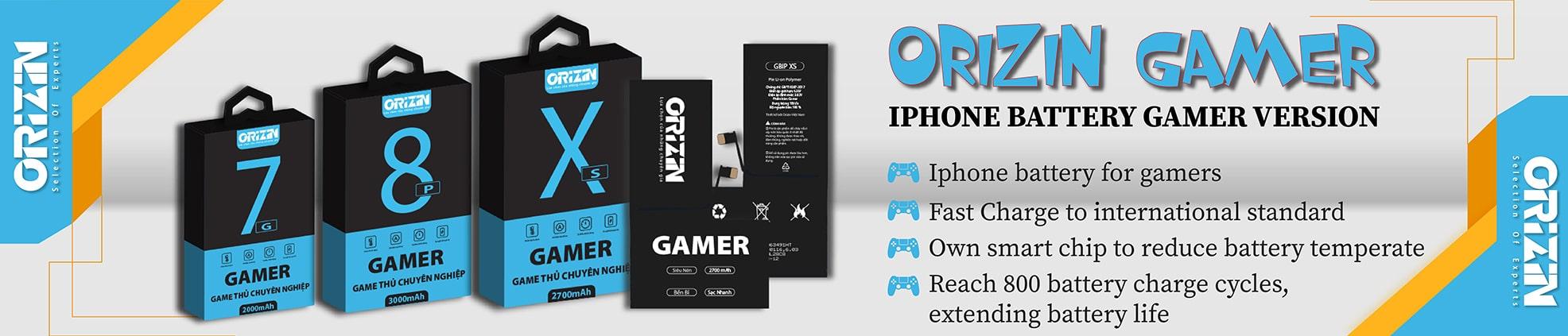 Pin Iphone Phiên Bản Gamer